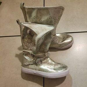 Disney Frozen Boots ❤ Sale